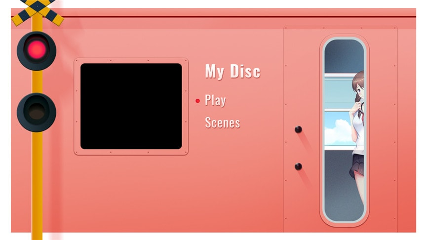DVDメニューテンプレート:ムービー2