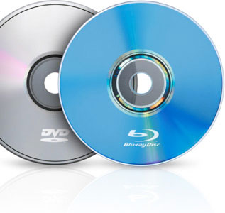 DVDとブルーレイの違い-容量