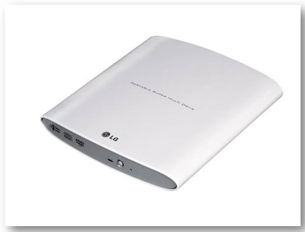 LG GP08NU20 Portable Super Multi Drive