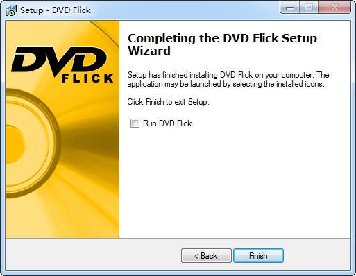 DVD Flickのインストールが完成