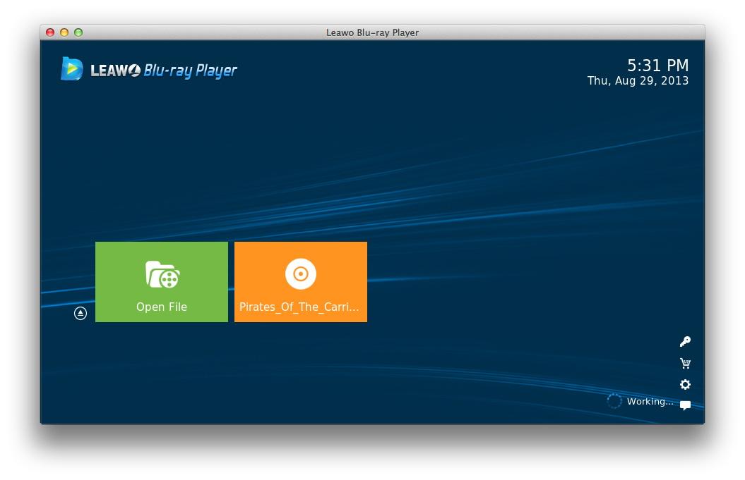 ISOファイルの再生ソフトLeawo Blu-ray Player