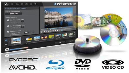 有料ブルーレイ作成ソフト-PowerProducer 6